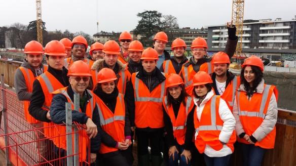 Business School Lausanne Students visit CEVA in Geneva