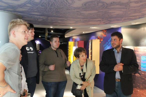 CERN class visit BSL