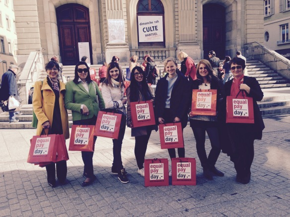 BSL supports the Equal Pay Day in Lausanne