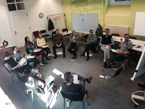 Holacracy workshop at BSL